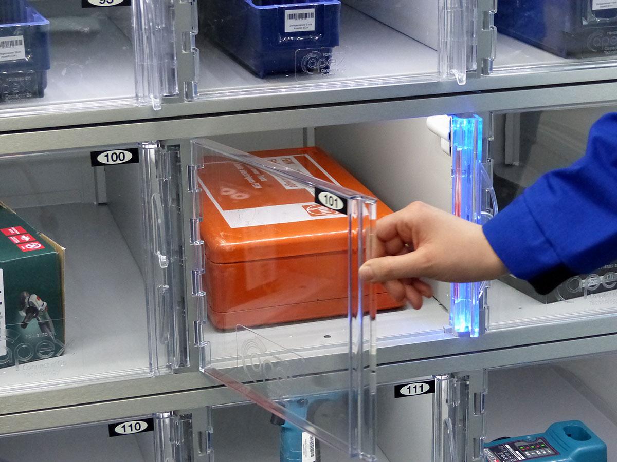 Axcess™ Schließfachanlagen – 24/7 sicherer Zugriff