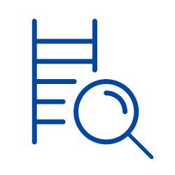 Prüfung von Regalen, Leitern und Gefahrstoffschränken